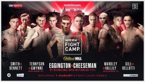 Mathroom Boxing Fight Camp Week 1 boxen247.com