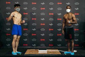 Leo & Williams Fight Bill Weights (US) | boxen247.com