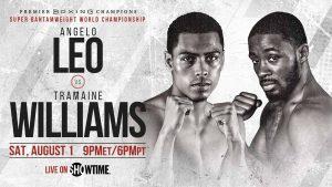 Leo vs Williams boxen247.com