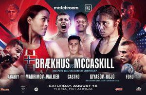 Cecilia Braekhus vs Jessica McCaskill Weights - boxen247.com