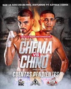 Ocampo vs Garcia Fight Card Weights (Mexico City) - boxen247.com