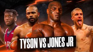 Roy Jones Jr. Threatens To Pull Out Of Mike Tyson Fight On November 28th - boxen247.com