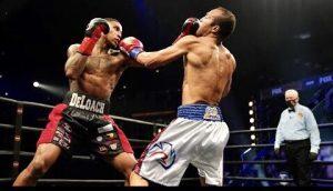 Justin DeLoach Upsets Unbeaten Livan Navarro - Boxing Results From boxen247.com