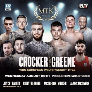 Crocker Stops Greene in 7 Rounds & Fight Card Results From Wakefield (UK) - boxen247.com