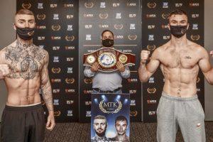 Crocker vs Greene Fight Card Weights from Wakefield (UK) boxen247.com