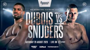 Dubois vs Snijders Fight Card Weights From UK- boxen247.com
