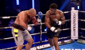 David Adeleye (3-0, 3 KO's) W RSF 3 Phil Williams(3-26-1, 1 KO) - boxen247.com