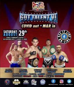 Cristofer Rosales vs Jeno Tonte 'Got Talent VI' Fight Card Results (Venice/Florida) - boxen247.com