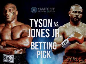 Mike Tyson Now The Odds on Favourite Against Jones Jr | boxen247.com