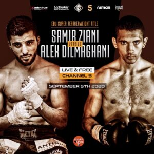 Ziani KO's Dilmaghani in Round 12 & Full Card Results - boxen247.com