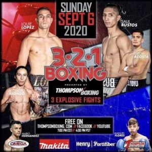 Saul Bustos Beats Luis Lopez & Fight Card Results (California) - boxen247.com