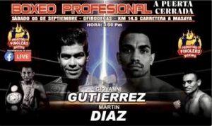 Gutierrez & Diaz Fight to a Drawer - Fight Card Results (Masaya) - boxen247.com