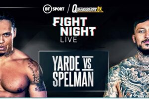Yarde 179.5 & Spelman 180 & Card Weights From UK | boxen247.com