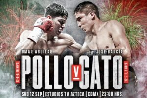 Aguilar & Garcia Make Weight & Full Fight Card Weights From Mexico City | boxen247.com