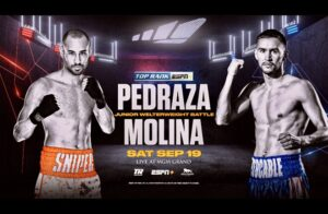 Pedraza Defeats Molina, Efe Ajagba Wins & Full Fight Card Results From Las Vegas | boxen247.com