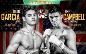 Garcia vs Campbell Delayed Luke COVID Test Positive | boxen247.com