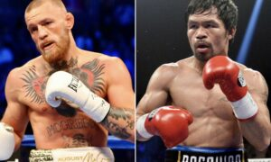 """""""I'm Boxing Manny Pacquiao Next in The Middle East"""" - Conor McGregor 