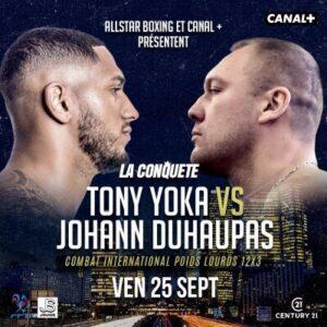 Tony Yoka Knocks Out Johann Duhaupas in Round 1 | boxen247.com