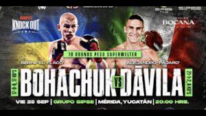 Serhii Defeats Alejandro Davila in Mexico   boxen247.com