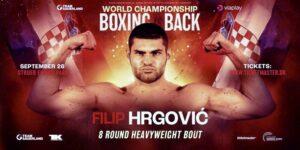 Filip Hrgović KO's Alexandre Kartozia in 2 Rounds | boxen247.com