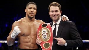 """""""You're Going to Steamroll Through These Guys"""" - Eddie Hearn on Anthony Joshua   boxen247.com"""