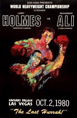 Muhammad Ali vs Larry Holmes | boxen247.com