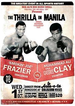 """Shot of The Day - The """"Thrilla in Manilla"""" 45th Anniversary   boxen247.com"""
