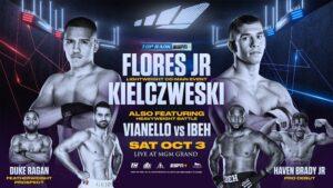 Flores Jr. vs Kielczweski & Zepeda vs Baranchyk Conference Quotes | boxen247.com
