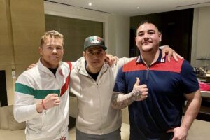 Andy Ruiz Has a Good First Day With New Trainer Eddy Reynoso | boxen247.com