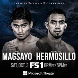 Magsayo vs Hermosillo Fight Card Fighters Make Weight (Los Angeles) | boxen247.com
