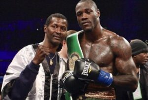 Mark Breland Out of Wilder's Camp For The 2nd Time | boxen247.com