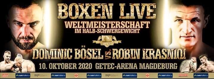 Dominic Bösel vs Robin Krasniqi Conference Quotes | boxen247.com