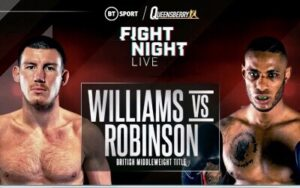 Williams vs Robinson, Gorman vs Lartey Press Conference   boxen247.com