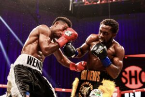Conwell KO's Toussaint - Fight Card Results & Quotes   boxen247.com