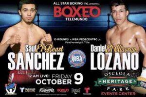 Sanchez & Lozano Fight Card Make Weight (Florida) | boxen247.com