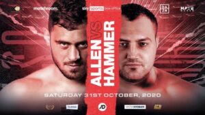 Dave Allen vs Christian Hammer Oct 31st | boxen247.com