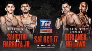 Saucedo, Barboza Jr & Berlanga Speak | boxen247.com