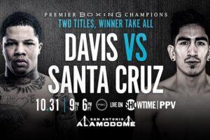 Davis & Santa Cruz Fight Card Weights From Texas | boxen247.com