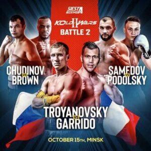 Troyanovsky Defeats Garrido, Brown Defeats Chudinov   boxen247.com