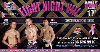 Bernaldez vs Aristule Fight Card Fighters Make Weight | boxen247.com