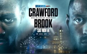 Terence Crawford vs Kell Brook Official November 14th | boxen247.com