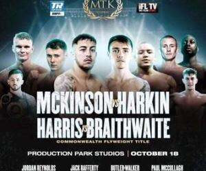 McKinson Defeats Harkin Fight Card Results Interviews   boxen247.com