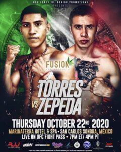 Torres Defeats Zepeda, Flores Defeats Perez (Mexico)   boxen247.com