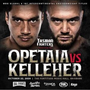 Opetaia Defeats Kelleher & FULL Fight Card Results | boxen247.com