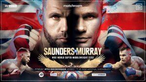 Billy Joe Saunders vs Martin Murray on December 4th | boxen247.com