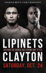 Lipinets & Clayton Drawer & Fight Card Results/Quotes | boxen247.com
