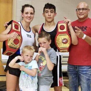 Idaho Amateur Boxer Kendra Samargis | boxen247.com