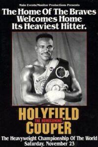 埃文德·霍利菲爾德(Evander Holyfield)vs伯特·庫珀(Bert Cooper)視頻| NobleBoxing.com