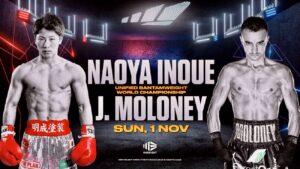 Naoya Inoue & Jason Moloney Fight Card Weights | boxen247.com