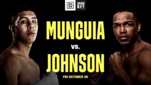 Munguía & Johnson & Fight Card Weights California   boxen247.com